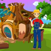 Young Farmer Rescue Best Escape Game-322 icon