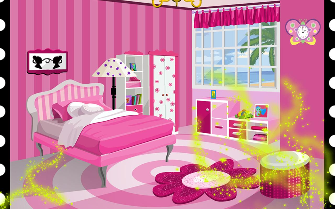 pink bedroom games for girls for android apk download