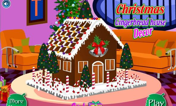 Christmas Gingerbread Decor poster