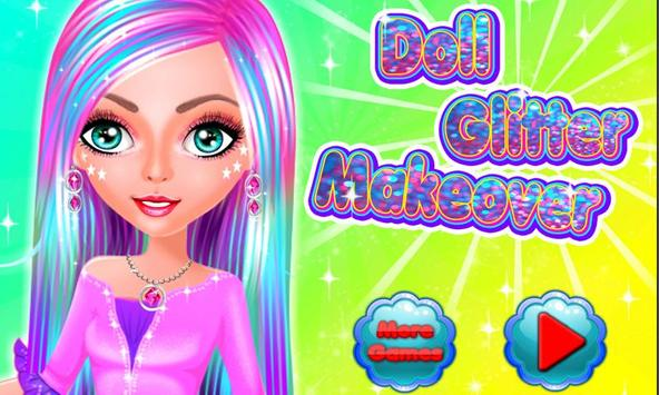 Doll Glitter Makeover poster