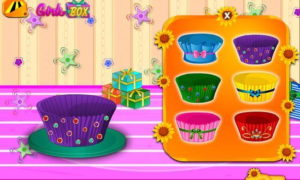 Decorate the Cupcake apk screenshot