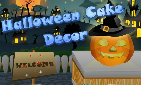 Halloween Cake Decor poster