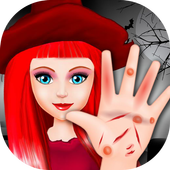 Halloween Witch Hand Treatment icon