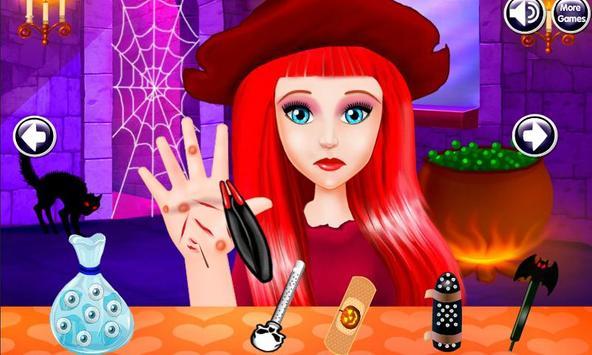 Halloween Witch Hand Treatment apk screenshot