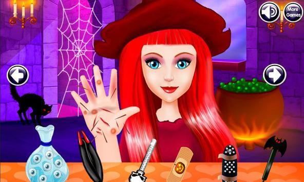 Halloween Witch Hand Treatment screenshot 6