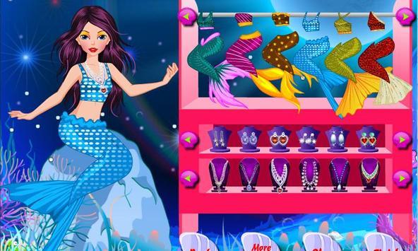 Mermaid Beauty Makeover apk screenshot