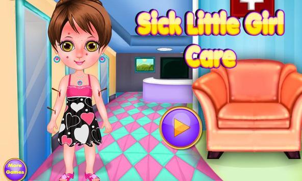 Sick Little Girl Care screenshot 5