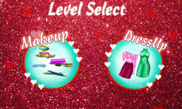 Valentine Fashion Makeover screenshot 5