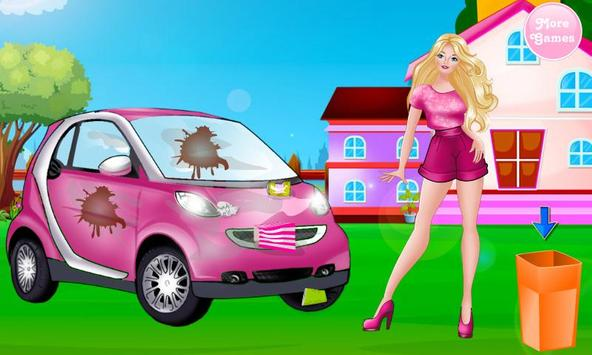 Princess Car Washing screenshot 1