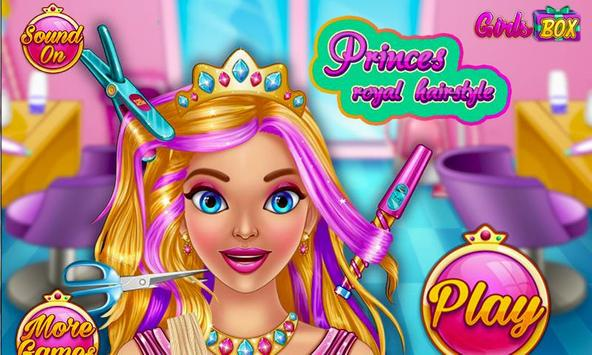 Princess Royal Hairstyle Salon poster