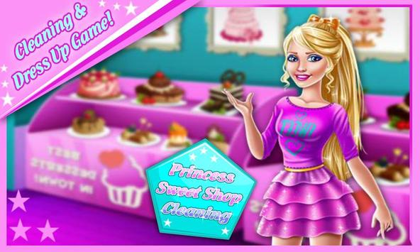 Princess Sweet Shop Cleaning poster