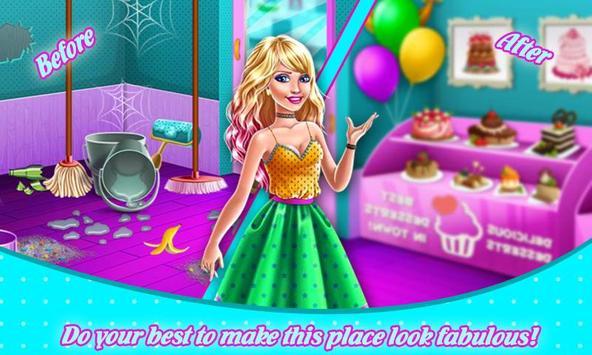 Princess Sweet Shop Cleaning screenshot 1