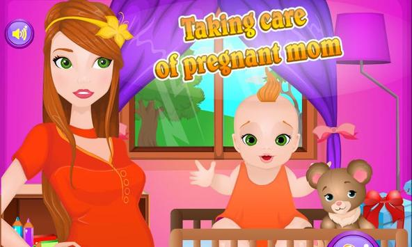 Taking Care of Pregnant Mom poster