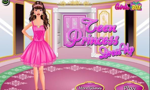Teen Princess Dress Up poster