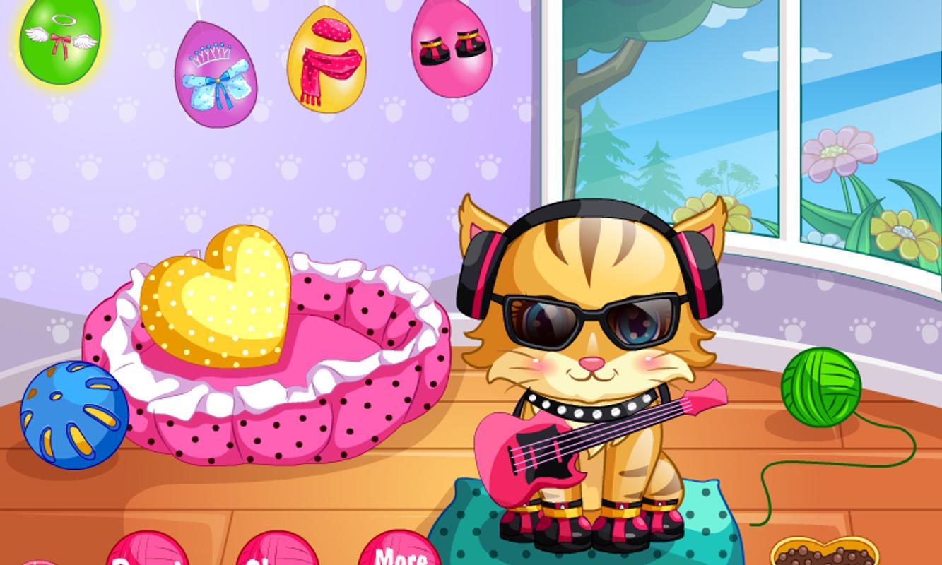 Gato ador vel grooming cuidado para android apk baixar - Cuidados gato 1 mes ...