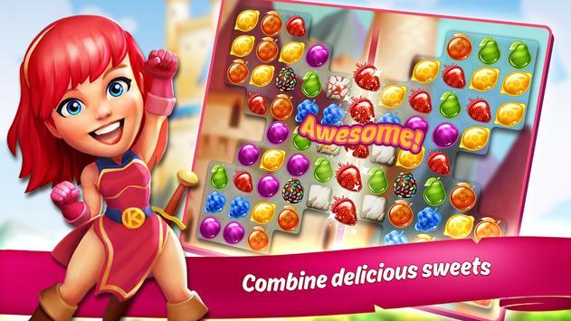 KingCraft - Candy Garden apk screenshot