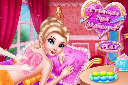 Princess Halloween Spa Makeup poster