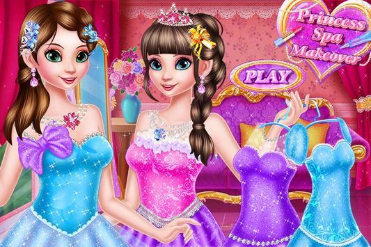 Princess Halloween Spa Makeup apk screenshot