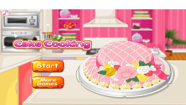 Make a Cake - Cooking Games poster