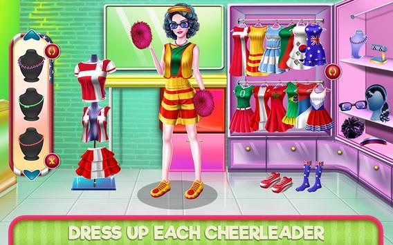Soccer Cheerleader Championship screenshot 16