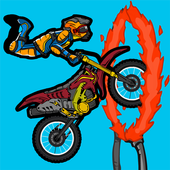 Risky Rider Racing On Bike icon