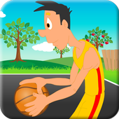 Basketball in Street icon