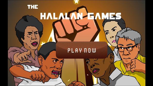 Halalan games poster