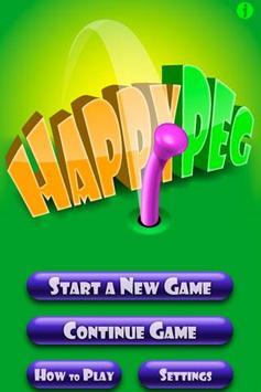 Happy Peg poster