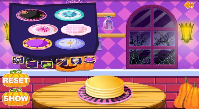 Pancake Girls Cooking Game apk screenshot
