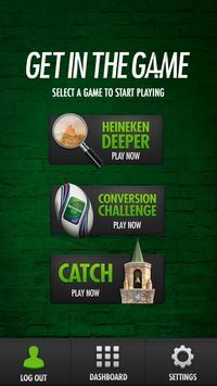 Heineken Get In The Game apk screenshot