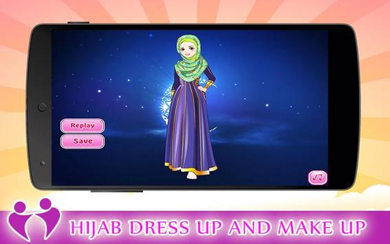 Hijab Dress Up and make Up apk screenshot
