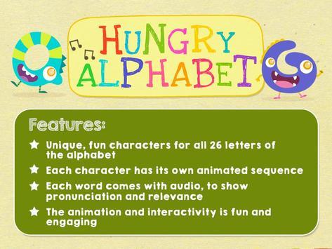 Hungry Alphabet - Learn ABC screenshot 10