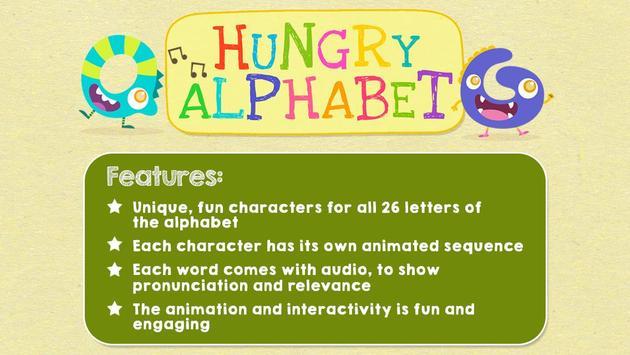 Hungry Alphabet - Learn ABC screenshot 2