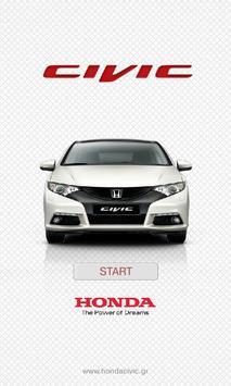 Honda Civic GR poster