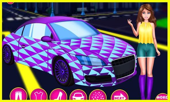 Cool Girl Car Cleaning screenshot 3