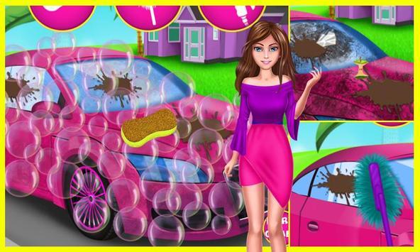 Cool Girl Car Cleaning screenshot 2