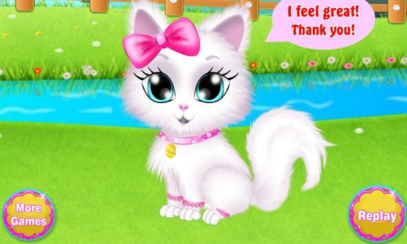 Kitty Cat Doctor Treatment screenshot 17