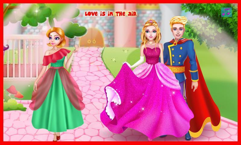 Принцессы: первый любовный поцелуй