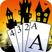 Pyramid Solitaire on Halloween icon
