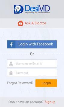 Ask a Doctor – DesiMD screenshot 1