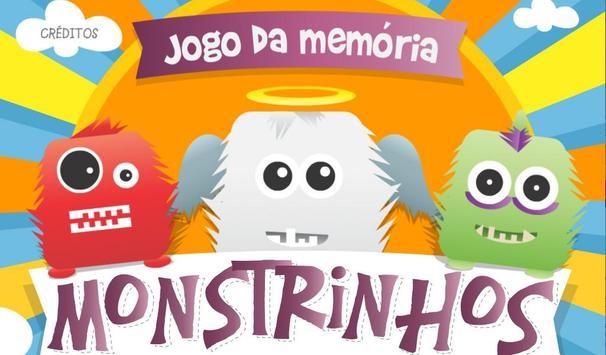 Monstrinhos - Jogo da Memória poster