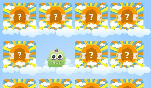 Monstrinhos - Jogo da Memória screenshot 1