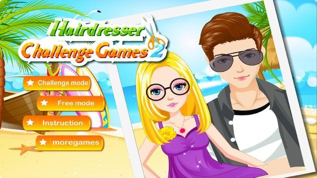 Hairdresser Challenge Games 2 poster