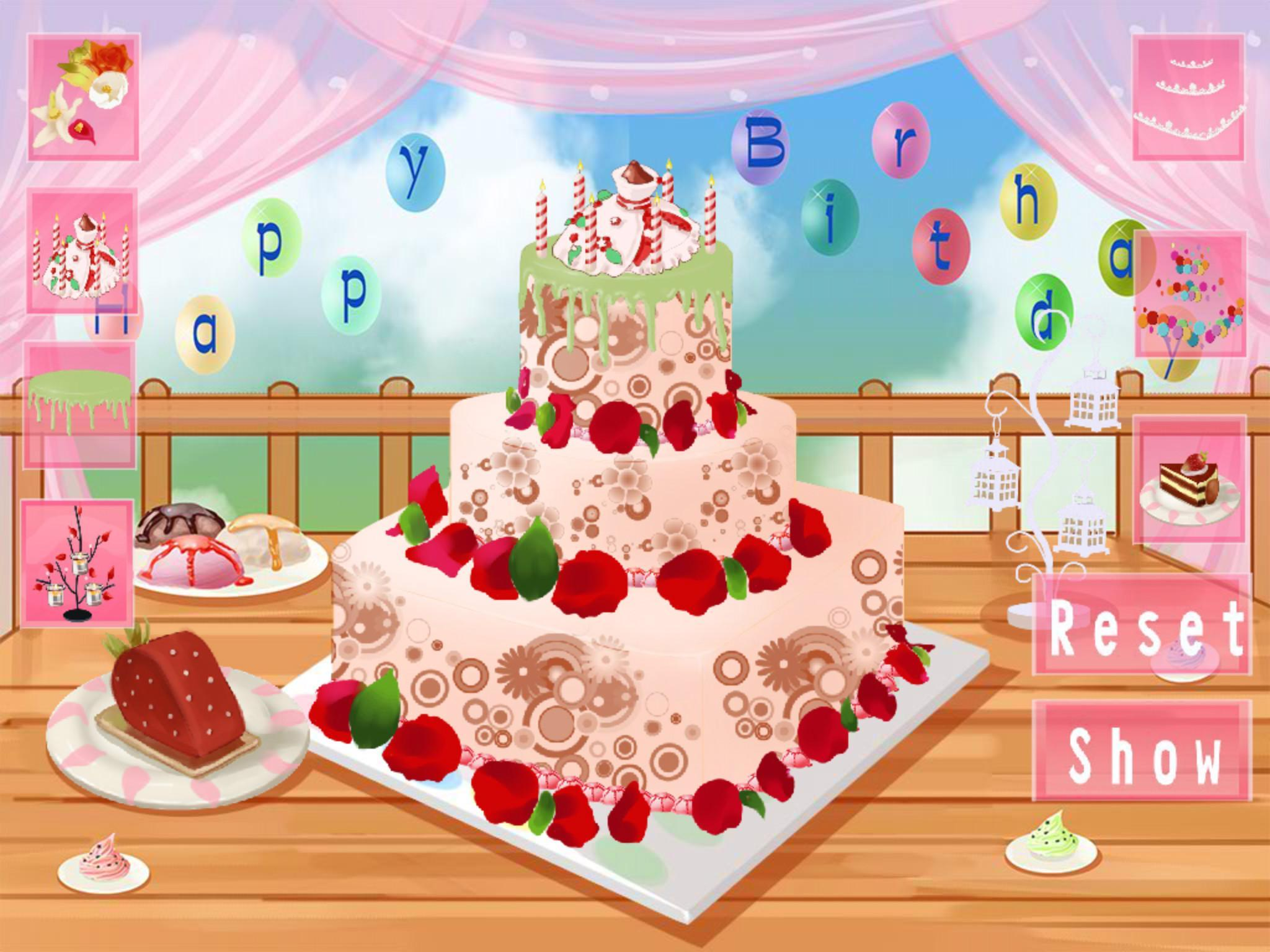 Enjoyable Pretty Birthday Cakes Hd For Android Apk Download Birthday Cards Printable Riciscafe Filternl