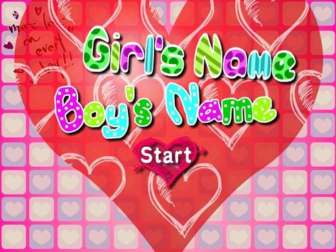 True Love Name Test poster