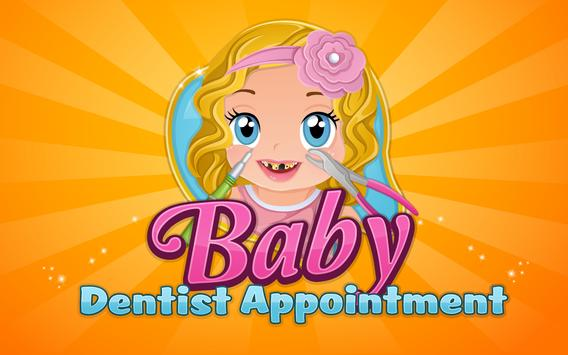 Baby Dentist Appointment Game poster