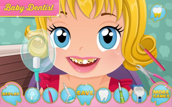 Baby Dentist Appointment Game apk screenshot