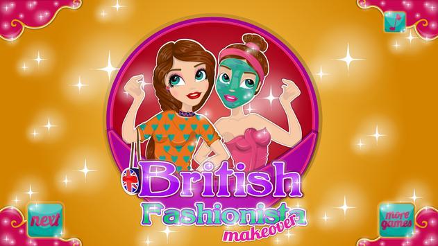British Fashionista Makeover poster