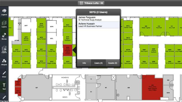 iOffice Space Manager apk screenshot