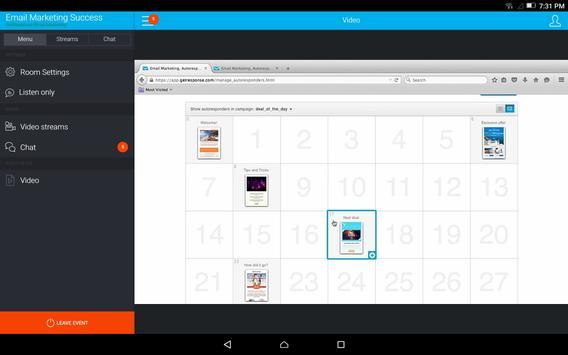 GetResponse Webinars apk screenshot